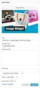 Image Widget Plugin
