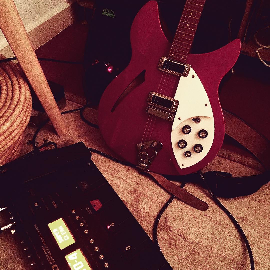 Inspiration guitar amp rickenbackerguitar rickenbacker boss100 playitloud rocknroll pictureoftheday instagoodhellip