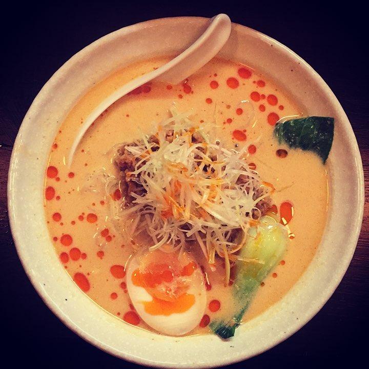Vegetarian Tantan japanesefood thegoodlife friedrichshain goodfood foodporn