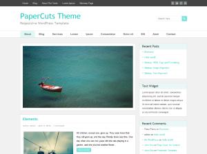 PaperCuts WordPress Theme