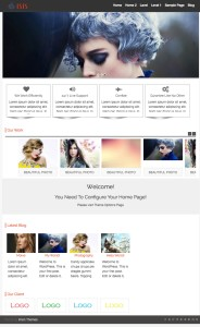 Isis WordPress Theme