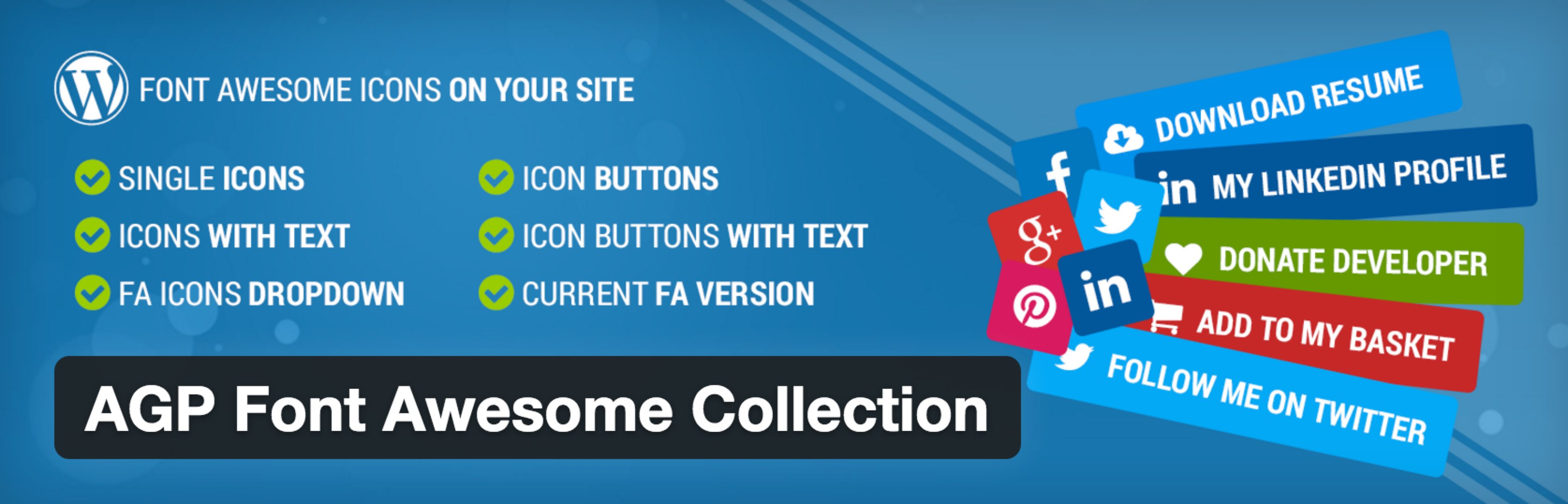 AGP Font Awesome Collection PlugIn