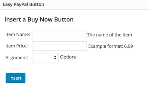 Easy PayPal Buy Now Button PlugIn
