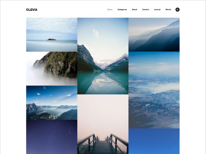 Olevia WordPress Theme