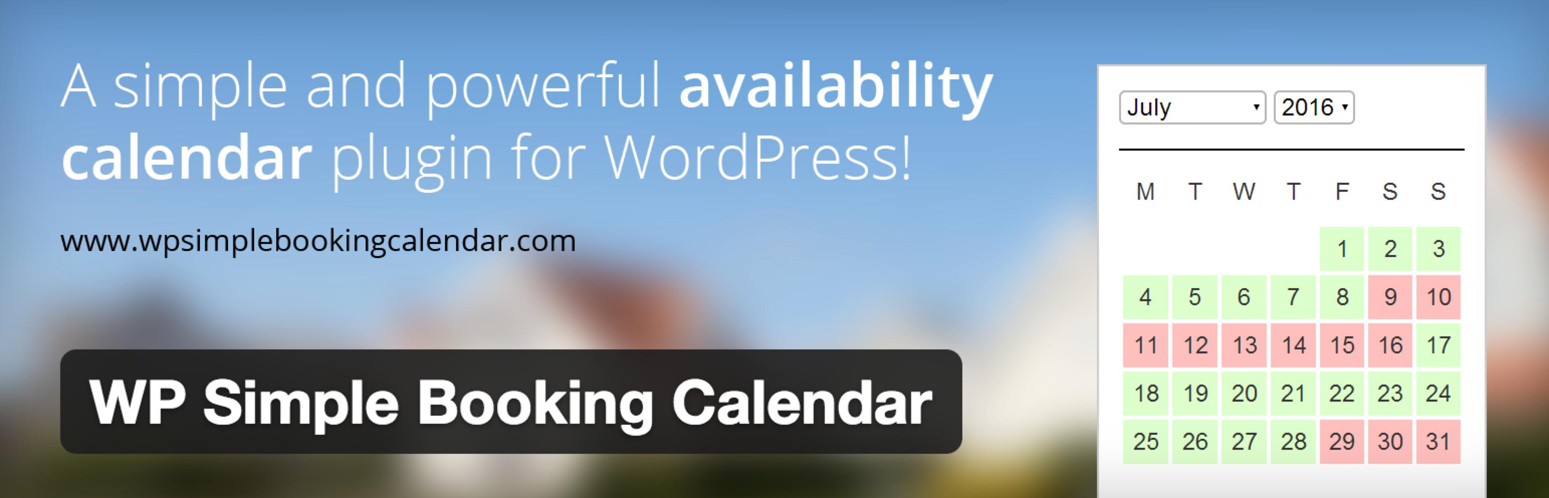 Calendar Booking Plugin Wordpress : Wp simple booking calendar ein simples belegungsplan plugin
